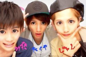 志尊淳と男友達のプリクラ