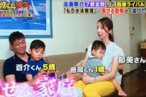 関慎介の子供と妻