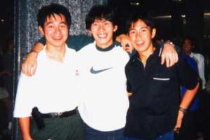 森徹さんと兄・晃さん、敏さん
