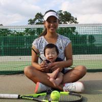 西村佳奈美の現在はママとなりテニスでグランドスラムを目指す。
