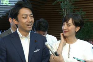 滝川クリステルの結婚相手は小泉進次郎