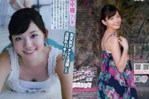 田中瞳アナのグラビア画像