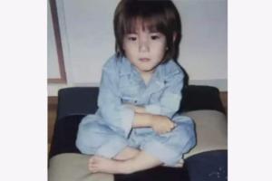 平野紫耀の幼少期の写真